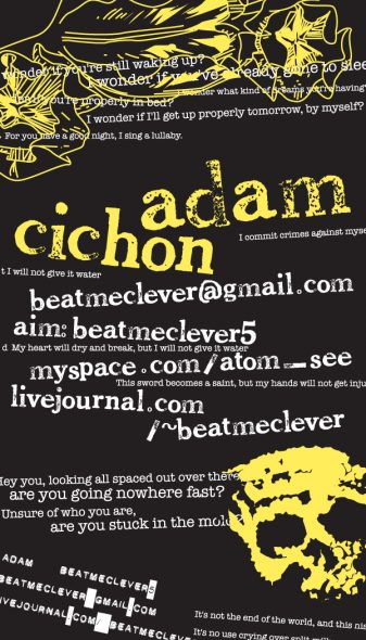 Adam Cichon's Business Card