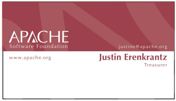 Apache Business Card