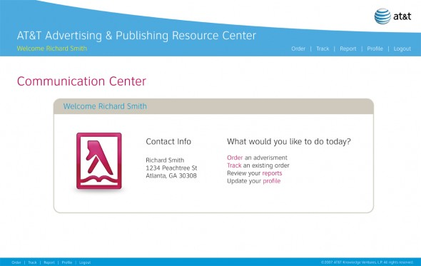 AT&T Advertising and Publishing Resource Center