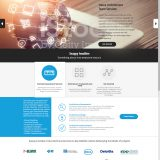 Deloitte ITASCA homepage and logo