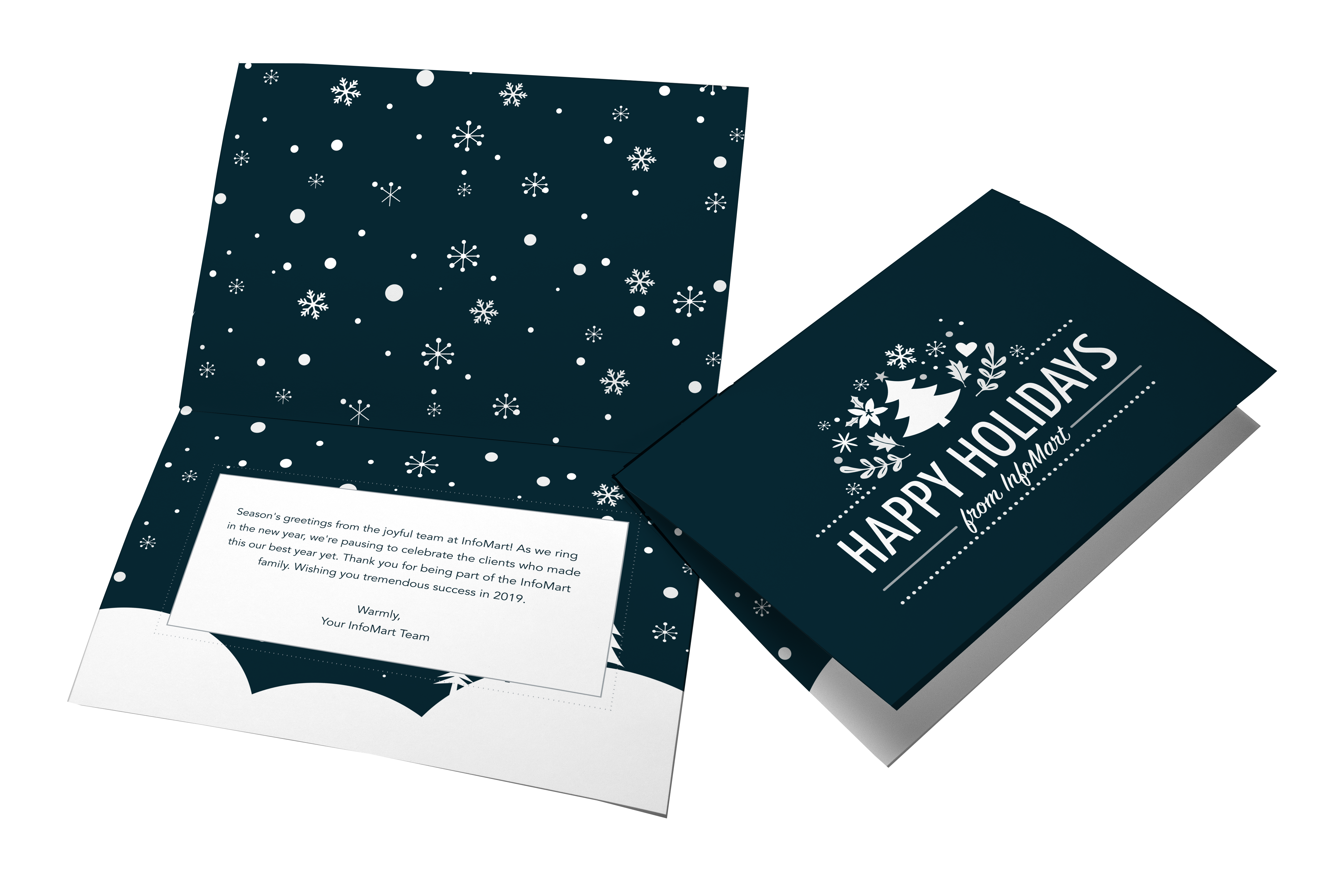 InfoMart Holiday Card